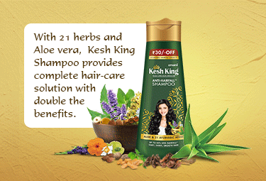 Ayurvedic Shampoo for hair fall with 21 herbs
