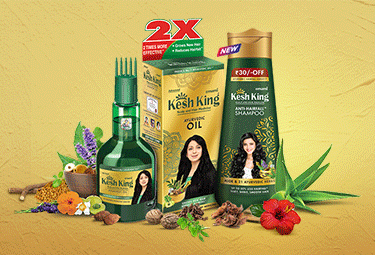 Kesh King Shampoo and Oil for Hair Fall