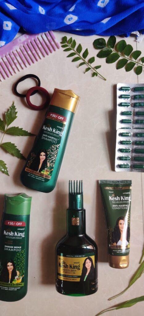 Kesh King Ayurvedic Hair Care Products