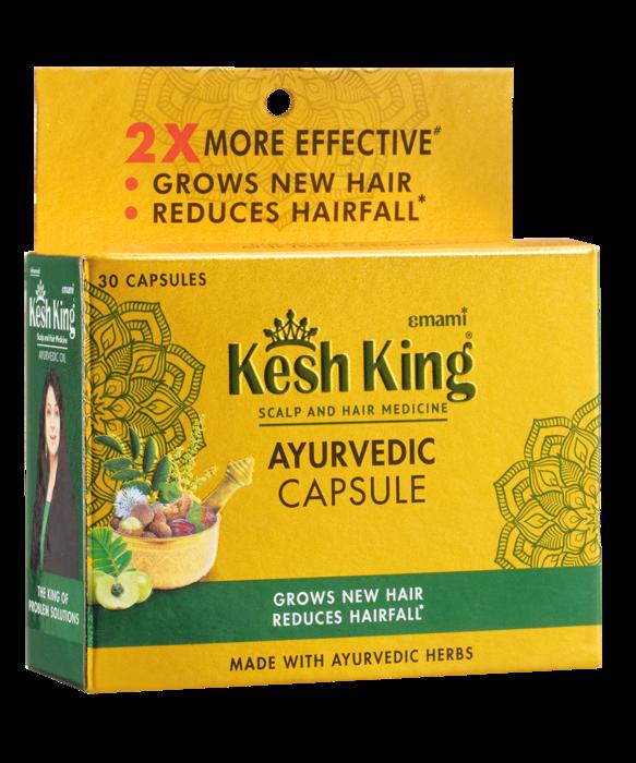 Kesh King Ayurvedic hair capsules