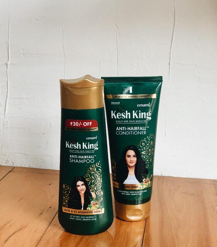 Kesh King Anti-Hairfall Shampoo & Conditioner
