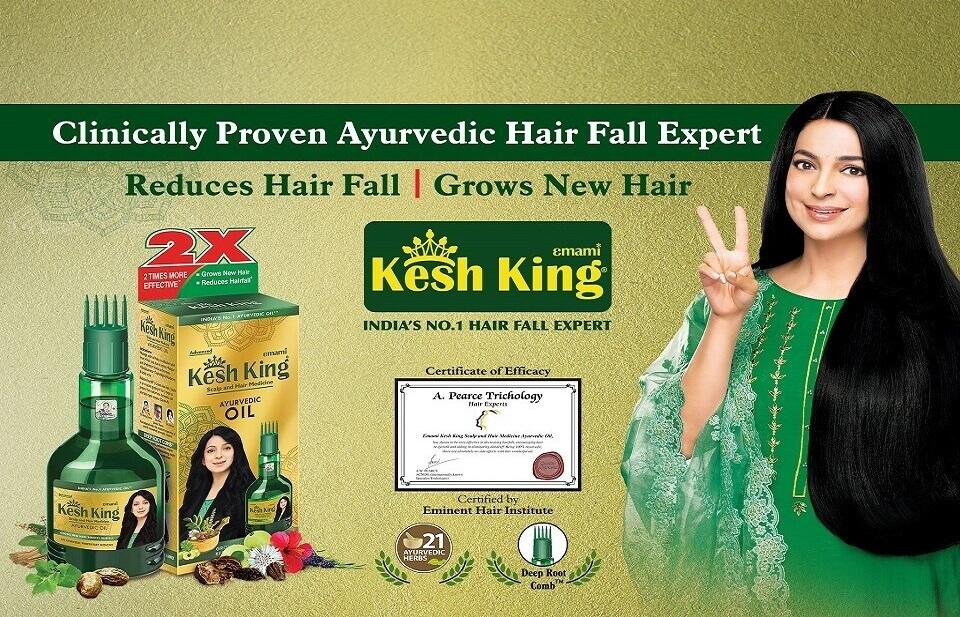 Buy Ayurvedic Hair Oil Shampoo For Hair Fall Hair Growth From Kesh King