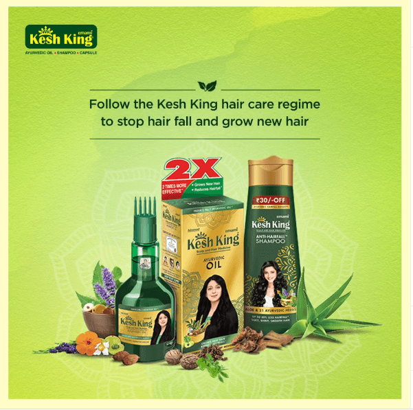 Kesh King Products to stop hair fall & promote hair growth