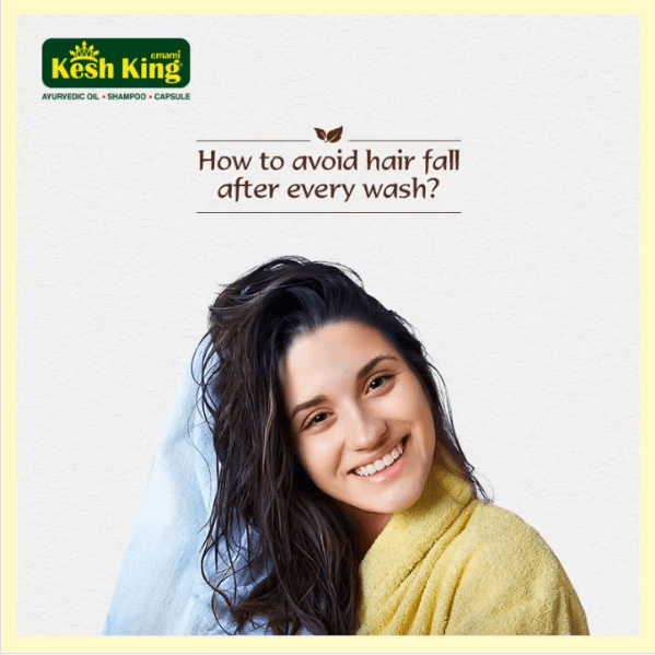 How to avoid hairfall after every wash