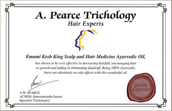 <p>Certified by International Hair Institute</p>